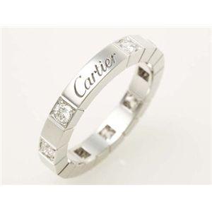 【現品限り】Cartier(カルティエ) ラニエールリング ハーフダイヤ WG #49【中古SA】