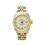 【現品限り】ROLEX(ロレックス) 腕時計 デイトジャスト 79173G 白文字盤 F番 レディースウォッチ【中古A】