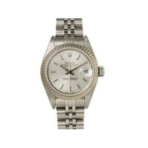 【現品限り】ROLEX(ロレックス) 腕時計 デイトジャスト 79174 シルバー文字盤 K番【中古SA】 - 拡大画像