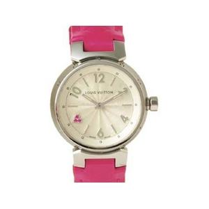 【現品限り】LOUIS VUITTON(ルイ ヴィトン) 腕時計 タンブール ピンクサファイヤ Q1218【中古SA】 - 拡大画像