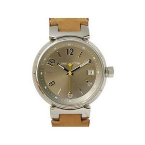 【現品限り】LOUIS VUITTON(ルイ ヴィトン) 腕時計 タンブール ボーイズ 革ベルト クォーツ Q1312【中古AB】 - 拡大画像