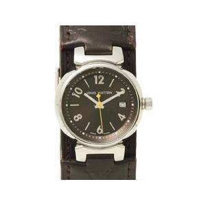 【現品限り】LOUIS VUITTON(ルイ ヴィトン) 腕時計 タンブール Q1211 クオーツ レディースウヲッチ 【中古A】 - 拡大画像