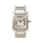 【現品限り】Cartier(カルティエ) タンクフランセーズSM SS W51008Q3 クォーツ 時計 【中古SA】