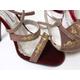 【現品限り】DOLCE&GABBANA(ドルチェ&ガッバーナ) サンダル ピンク 刺繍 #37 【中古A】 - 縮小画像3