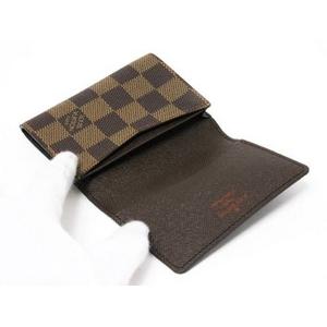 【現品限り】LOUIS VUITTON(ルイ ヴィトン) ダミエ 名刺入れ カードケース 【新品同様】