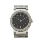 【現品限り】ブルガリ ブルガリブルガリ BB30SS 旧バックル ボーイズ クォーツ 時計【中古A】