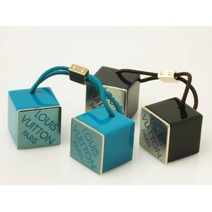 Louis Vuitton(ルイ ヴィトン) ヘアキューブ ブルー ブラウン 2コセット