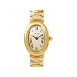 【現品限り】Cartier(カルティエ) ベニュワール トライアングル ダイヤ K18YG レディース 時計 【新品同様】
