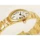 【現品限り】Cartier(カルティエ) ベニュワール トライアングル ダイヤ K18YG レディース 時計 【新品同様】 - 縮小画像2