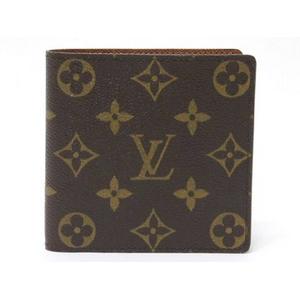 【現品限り】LOUIS VUITTON(ルイヴィトン) モノグラム 2つ折財布 M61665 【中古SA】