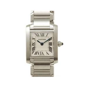 【現品限り】Cartier(カルティエ) タンクフランセーズSM SS W51008Q3 クォーツ 時計 【中古A】 - 拡大画像