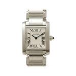 【現品限り】Cartier(カルティエ) タンクフランセーズSM SS W51008Q3 クォーツ 時計 【中古A】