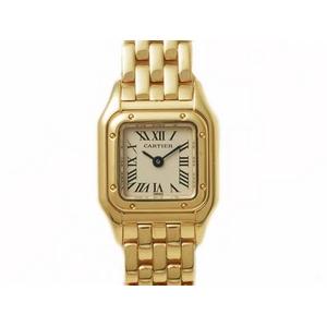 【現品限り】Cartier(カルティエ) ミニパンテール YG クオーツ レディース 【中古SA】