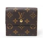 【現品限り】LOUIS VUITTON(ルイヴィトン) モノグラム Wホック財布 M61654 【中古A】