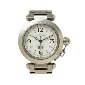 【現品限り】Cartier(カルティエ) パシャC ビッグデイト 白文字盤 自動巻き ユニセックス 【中古SA】