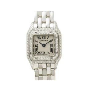 【現品限り】Cartier(カルティエ) ミニパンテール 2重ダイヤ WG 【中古SA】