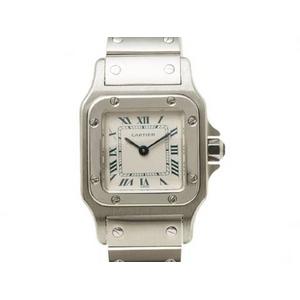 【現品限り】Cartier(カルティエ) サントスガルベSM SS 旧バックル レディース クオーツ 【中古SA】
