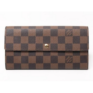 LOUIS VUITTON(ルイヴィトン) ダミエ ファスナ-長財布 N61734