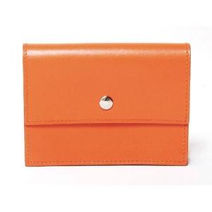 HERMES(エルメス) セリエ カードケース ボックスカーフ オレンジ