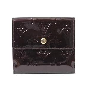 LOUIS VUITTON(ルイヴィトン) ヴェルニ Wホック財布 アマラント M93523