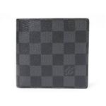 【現品限り】LOUIS VUITTON(ルイヴィトン) ダミエグラフィット 二つ折財布 N62664 【新品同様】
