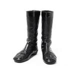 【現品限り】CHANEL(シャネル) カンボンライン ブーツ 黒 ブラック 【中古AB】