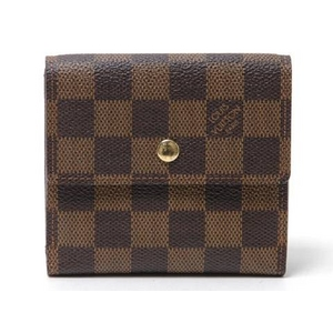 LOUIS VUITTON(ルイヴィトン) ダミエ Wホック財布 N61654