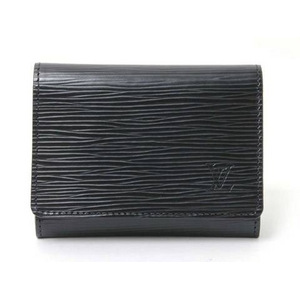 LOUIS VUITTON(ルイヴィトン) エピ 名刺入れ カードケース 黒 M56582