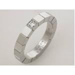 【現品限り】Cartier(カルティエ) ラニエールリング WG 1Pダイヤ #48 【新品同様】