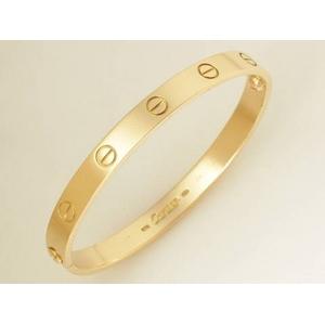 promo code 86093 71c48 送料無料】Cartier(カルティエ) ラブブレス K18YG #17 ...