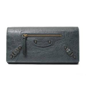 【現品限り】Balenciaga(バレンシアガ) 二つ折り長財布 グレー 253038 【未使用】