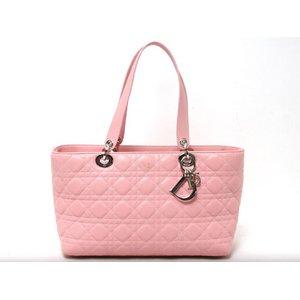 Dior(ディオール)レディディオール トートバッグ ピンク【中古AB】 - 拡大画像