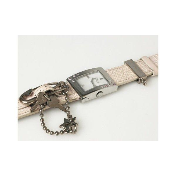 【美品】DIOR[ディオール] マリス レディース 時計 クオーツ D78-1093 【中古A】 - 拡大画像2