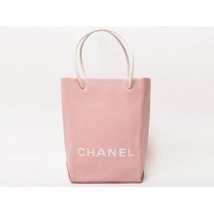 【美品】CHANEL[シャネル]  エッセンシャルトート 小 ピンク A46880 【中古SA】 - 拡大画像