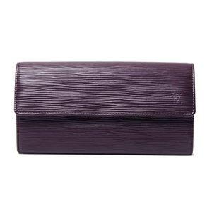 【美品 現品限り】Louis Vuitton [ルイヴィトン]エピ ファスナー長財布 カシス M6374K 【新品同様】 - 拡大画像