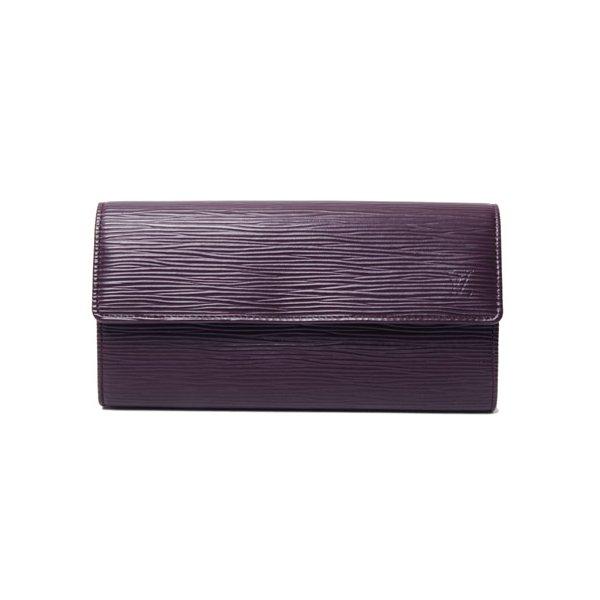 【美品 現品限り】Louis Vuitton [ルイヴィトン]エピ ファスナー長財布 カシス M6374K 【新品同様】 - 拡大画像1