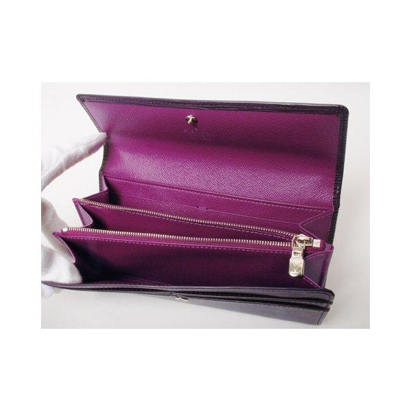 【美品 現品限り】Louis Vuitton [ルイヴィトン]エピ ファスナー長財布 カシス M6374K 【新品同様】 - 拡大画像3