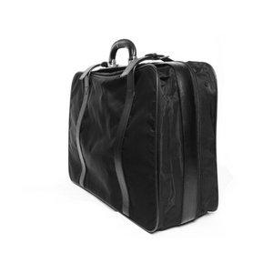 【美品 現品限り】 PRADA [プラダ] スーツケース ナイロン/レザー 黒 ブラック V102/65 【中古AB】の商品写真-2