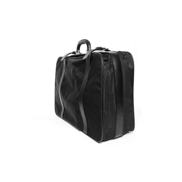 【美品 現品限り】 PRADA [プラダ] スーツケース ナイロン/レザー 黒 ブラック V102/65 【中古AB】 - 拡大画像2