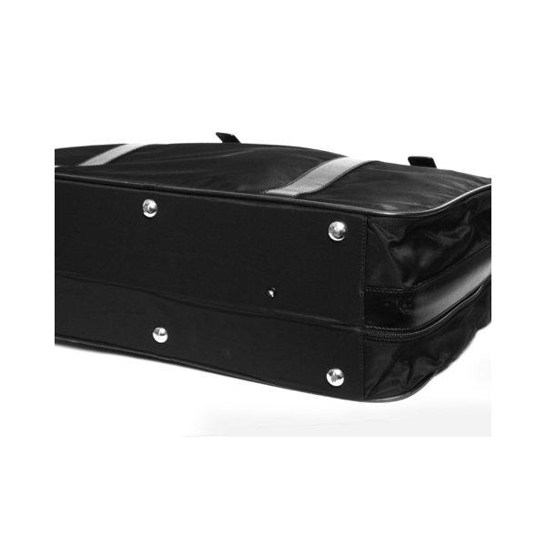 【美品 現品限り】 PRADA [プラダ] スーツケース ナイロン/レザー 黒 ブラック V102/65 【中古AB】 - 拡大画像5