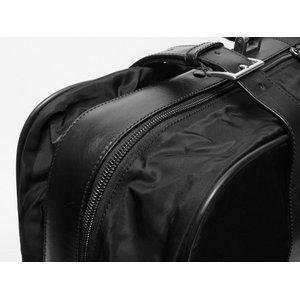 【美品 現品限り】 PRADA [プラダ] スーツケース ナイロン/レザー 黒 ブラック V102/65 【中古AB】の商品写真-6