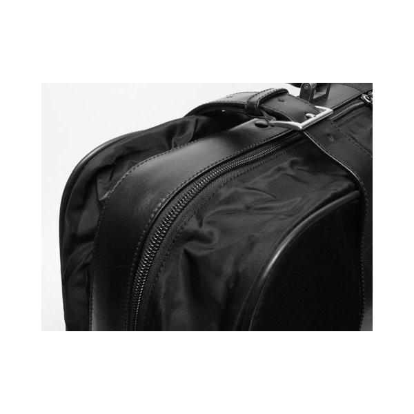 【美品 現品限り】 PRADA [プラダ] スーツケース ナイロン/レザー 黒 ブラック V102/65 【中古AB】 - 拡大画像6