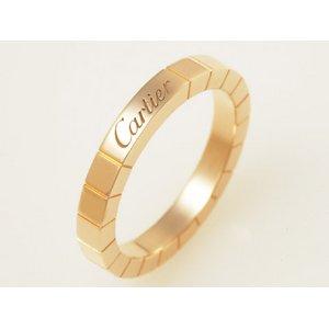【美品 現品限り】 Cartier [カルティエ] ラニエールリング PG #55 【中古SA】 - 拡大画像
