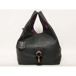 【美品・現品限り】Loewe(ロエベ)カリエ ハンドバッグ L 黒 ブラック 369.74.971  【未使用】 - 拡大画像