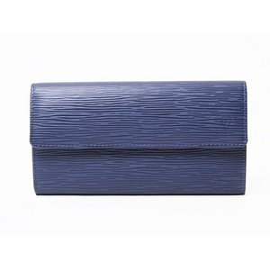 【美品 現品限り】Louis Vuitton [ルイヴィトン] エピ ファスナー長財布 アンディゴブルー M60320 【新品同様】 - 拡大画像