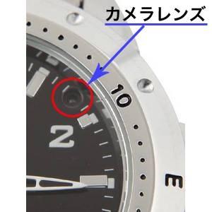 【小型カメラ】腕時計型ビデオカメラ  4GB 640*480画素