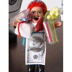 伝説のエケッコー人形 (ミニサイズ)2個セット 色おまかせ