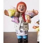 【ペルー産】伝説のエケッコー人形 30cm(ラージサイズ) 色おまかせ