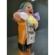 【ペルー産】伝説のエケッコー人形(エケコ人形) 約19cm(ミドルサイズ/M) - 縮小画像1