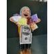 【ペルー産】伝説のエケッコー人形(エケコ人形) 約19cm(ミドルサイズ/M) - 縮小画像2